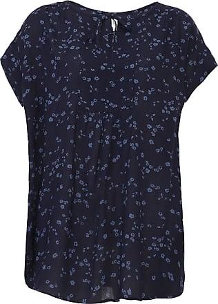 GAP Blusa GAP Floral Azul-Marinho