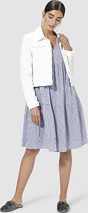 Rich & Royal Midi-Kleid mit Streifen