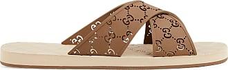 Gucci Mens GG slide sandal
