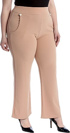 Nouvelle Collection High Waist Side Pocket Trousers Tan 26-28