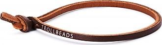Acotis Limited Trollbeads Brown Single Leather Bracelet TLEBR-00057