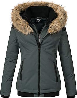 gefüttert Geographical Mantel Winter Damen Jacke Norway QroWECxBde