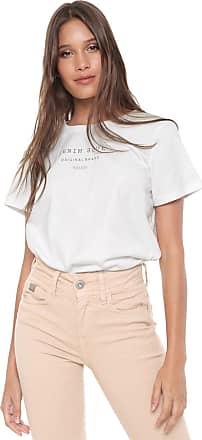 f258b8121 Colcci Camiseta Colcci Lettering Off-white