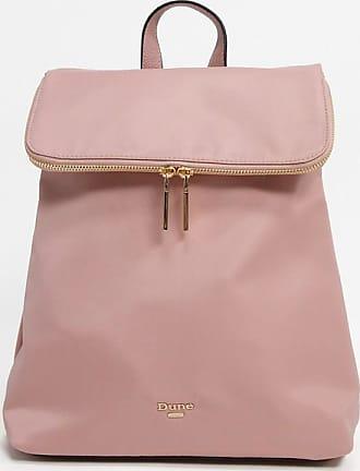 Dune London Donis Nylon Zip Backpack-Pink