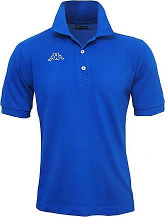 Kappa T-SHIRTS & POLO POLO LIFE MSS Tennis MAN, Royal Blue, S