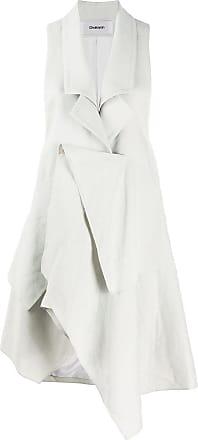 Hussein Chalayan Gilet drappeggiato - Di colore grigio