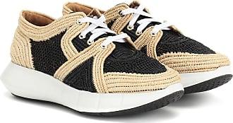 Robert Clergerie Sneakers Aero aus Raffiabast