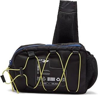 Marcelo Burlon Logo-plaque Nylon Cross-body Bag - Mens - Black