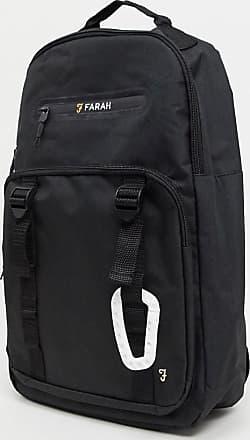Farah Backpack mit Clipdetail-Schwarz