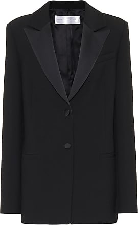 Victoria Beckham Satin-trimmed blazer