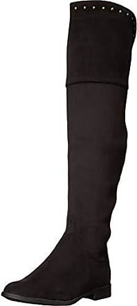 xoxo Womens Travis Over The Knee Boot, Black, 9.5 M US