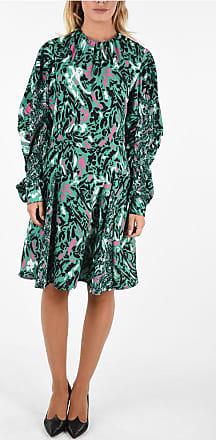 Drome Printed Flared Dress Größe M