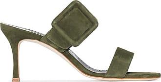 Manolo Blahnik Sandali Gable - Di colore verde