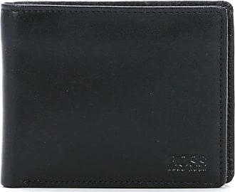 BOSS Leather Small Asolo Geldbörse schwarz