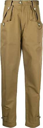 Isabel Marant Pulcie carrot-fit trousers - Marrom