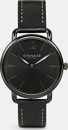 Coach Delancey Slim Watch, 40mm in Black - Size MEN