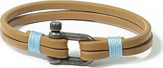 Panareha TEAHUPOO leather bracelet brown