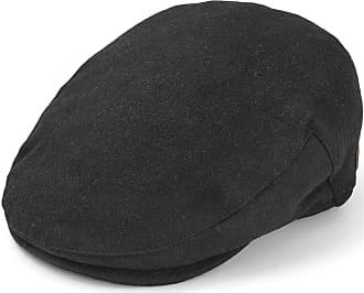 Major Wear Casquette plate en laine noire