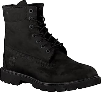 Timberland Schwarze Timberland Schnürboots 6 In Basic Boot Noncontrast