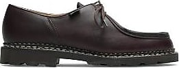Paraboot Michael Marron Lis Cafe Schuhe - UK10/44 - Black