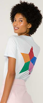 être cécile Camiseta Big Star de Algodão Azul - Mulher - M BR