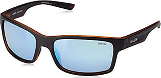 e64c223f0c Revo Crawler RE 1027 01 BL Polarized Rectangular Sunglasses