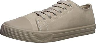 Qupid Womens NARNIA-10 Sneaker, Oatmeal, 8.5 M US
