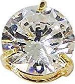 Prado Joias Pingente Em Ouro 18k Ponto De Luz 6mm