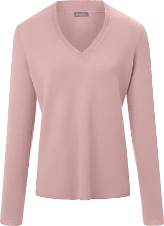 include V-neck jumper long sleeves include pale pink