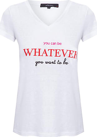 J. Chermann Camiseta You Can Be - Branco