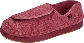 Insun Unisex Extra Wide Shoes for Edema Orthopaedic Fasciitis Red 1 3.5 UK Wide Women/3.5 UK Wide Men