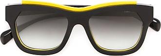 Marsèll Óculos de sol com armação contrastante - Preto