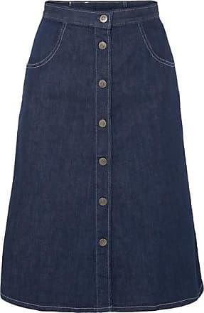 Mih Jeans Callcott Organic Denim Skirt - Dark denim