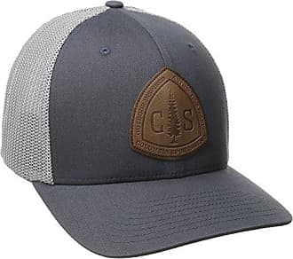 e76de144b89d55 Columbia Mens Rugged Outdoor Mesh Hat, Graphite/CS Patch Small/Medium