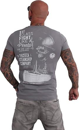 Yakuza Men T-Shirt Pirates of The 893, Size:6XL, Color:Monument