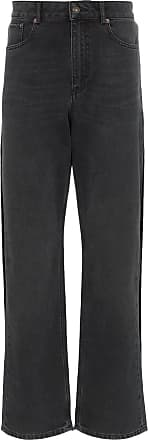 Y / Project Double Layer Straight Leg Jeans - Black
