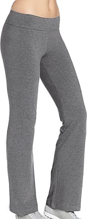 iLoveSIA Womens Bootleg Pant Casual Workout UK Size M 28.5inch Inseam Grey