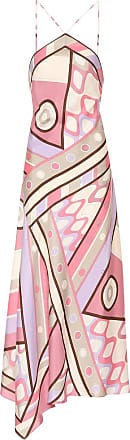 Emilio Pucci Printed silk-twill maxi dress