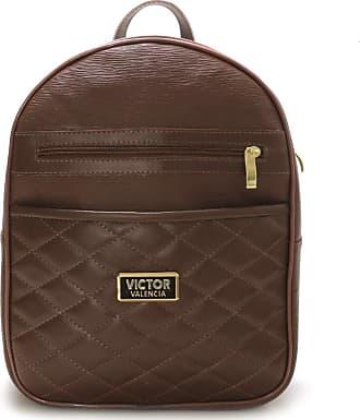 Victor Valência Bolsa mochila Veneza Feminina Victor Valencia (marrom)