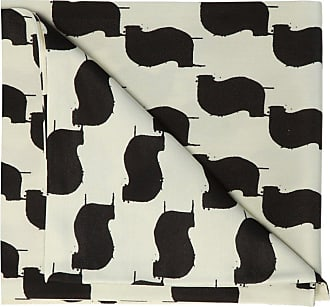 Undercover Long Patterned Scarf Womens White