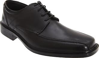 Roamers Mens Superlite Lace-Up Leather Shoes (14 UK) (Black)