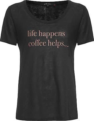 J. Chermann Camiseta Life Happen - Preto