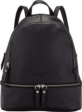Liebeskind Womens Bos - Alita Backpack Medium Carry-On Luggage, Black, 11x32x26 Centimeters (B x H x T)