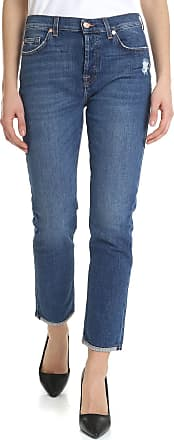 7 For All Mankind Blue Asher jeans