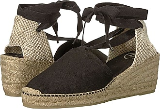3dfcef74e58ac Toni Pons Valencia (Black Canvas) Womens Shoes