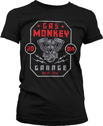 Gas Monkey Garage Officially Licensed Twin Engine T-Shirt (Black), XXL