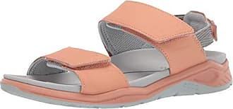 Ecco Womens X-Trinsic Sandal Muted Clay Leather 38 M EU (7-7.5 US)