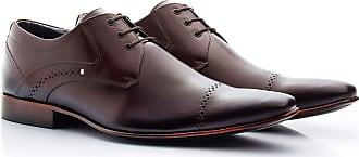 Di Lopes Shoes Sapato 100% Couro Social Masculino. (39, Marrom)