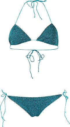 Oséree glittered bikini - Azul