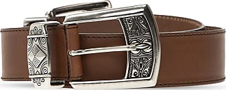 Etro Leather Belt Womens Brown